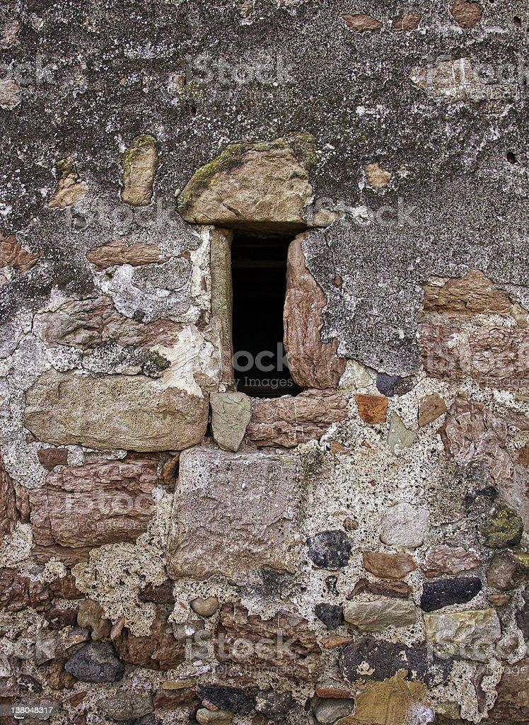 Stone house royalty-free stock photo