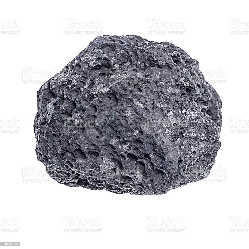 Stone  isolated on white background stock photo