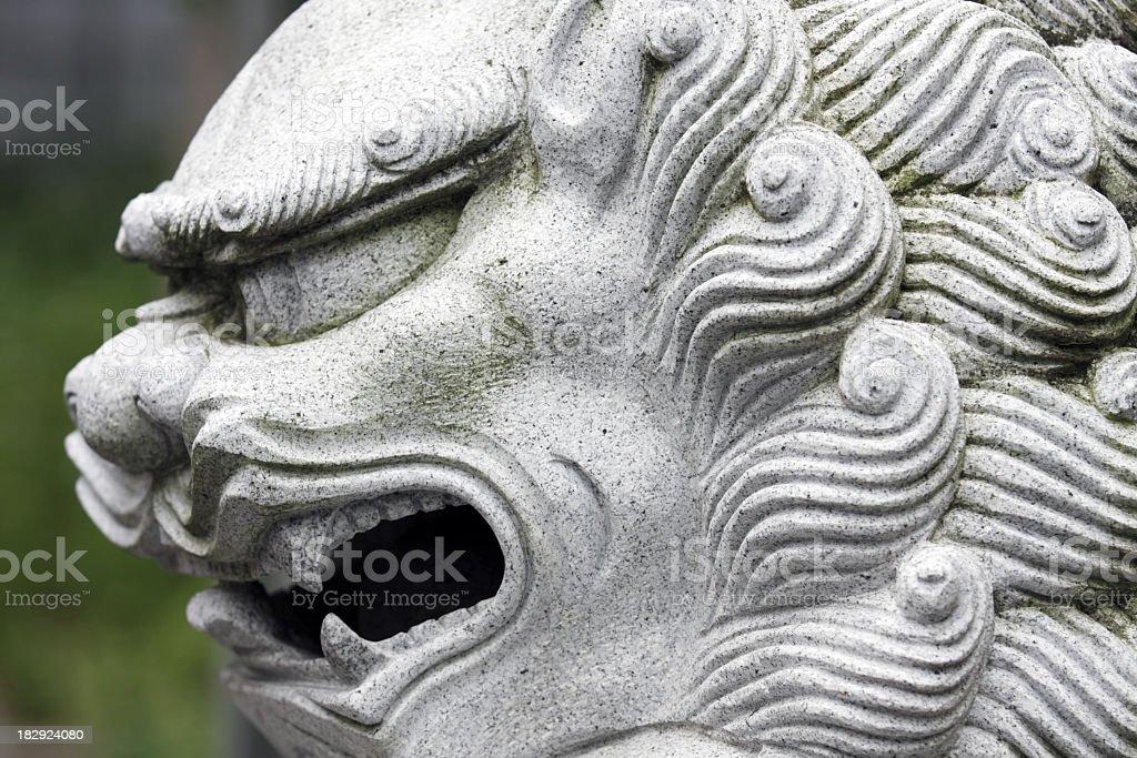 Stone-Lion Lizenzfreies stock-foto