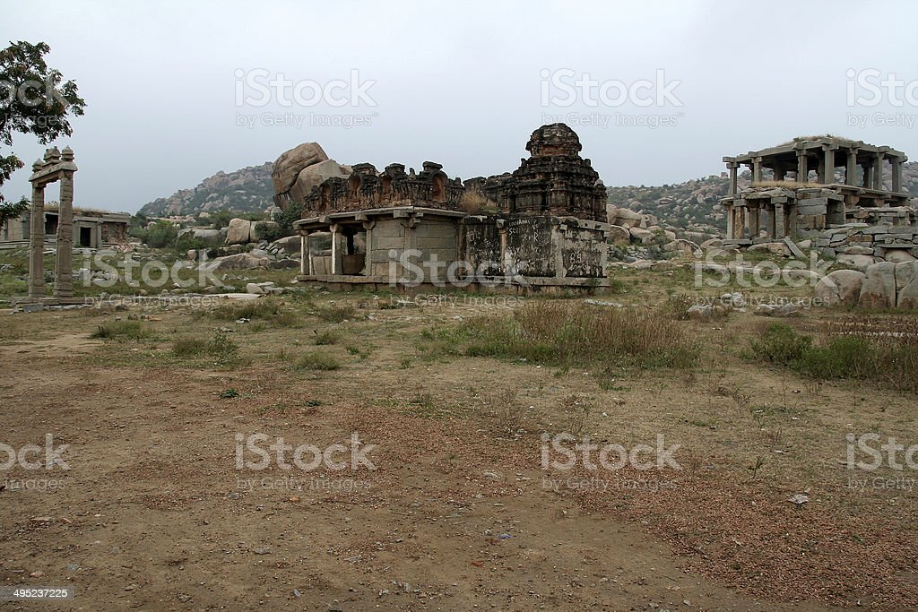 Stone Monuments stock photo