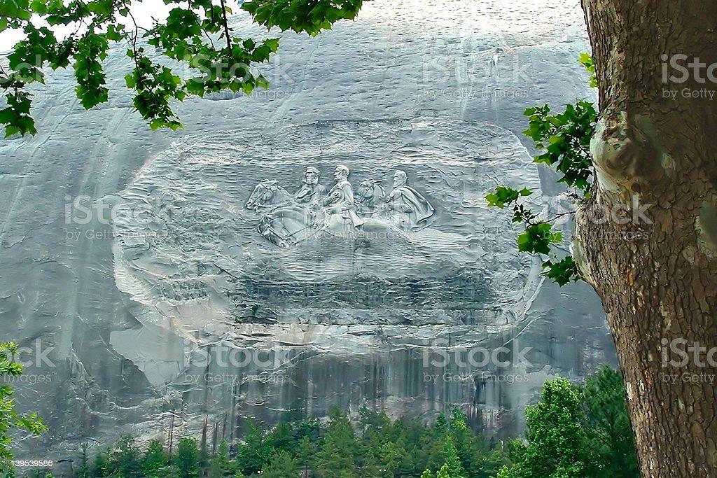 Stone Mountain Georgia stock photo