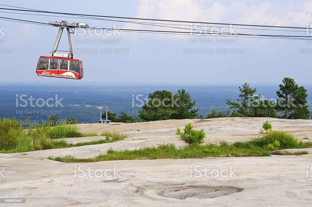 Stone Mountain Park in Atlanta, Georgia stock photo