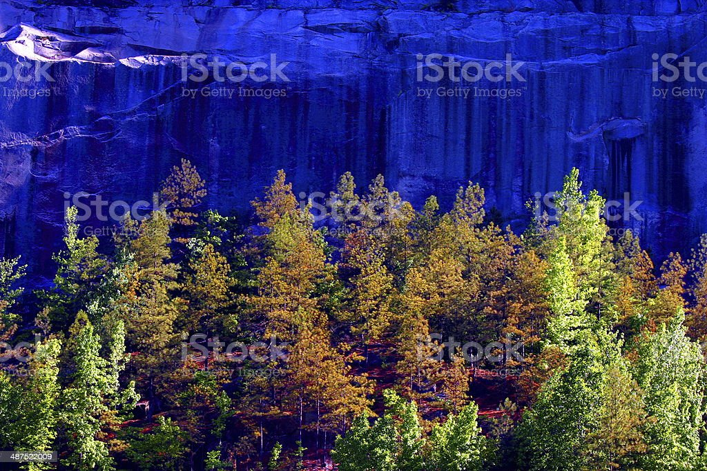 Stone Mountain stock photo