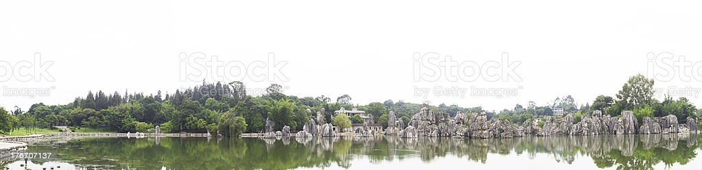 stone panorama stock photo