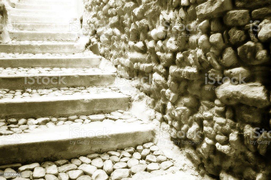 Stone Passage royalty-free stock photo