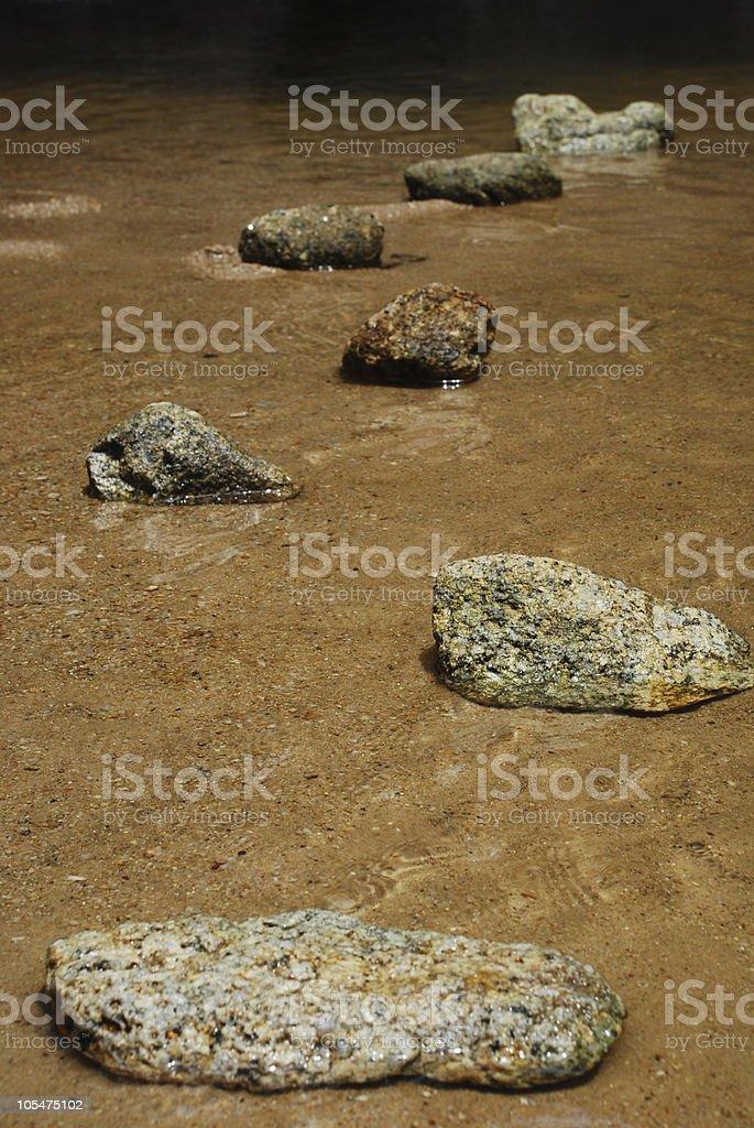 stone path stock photo