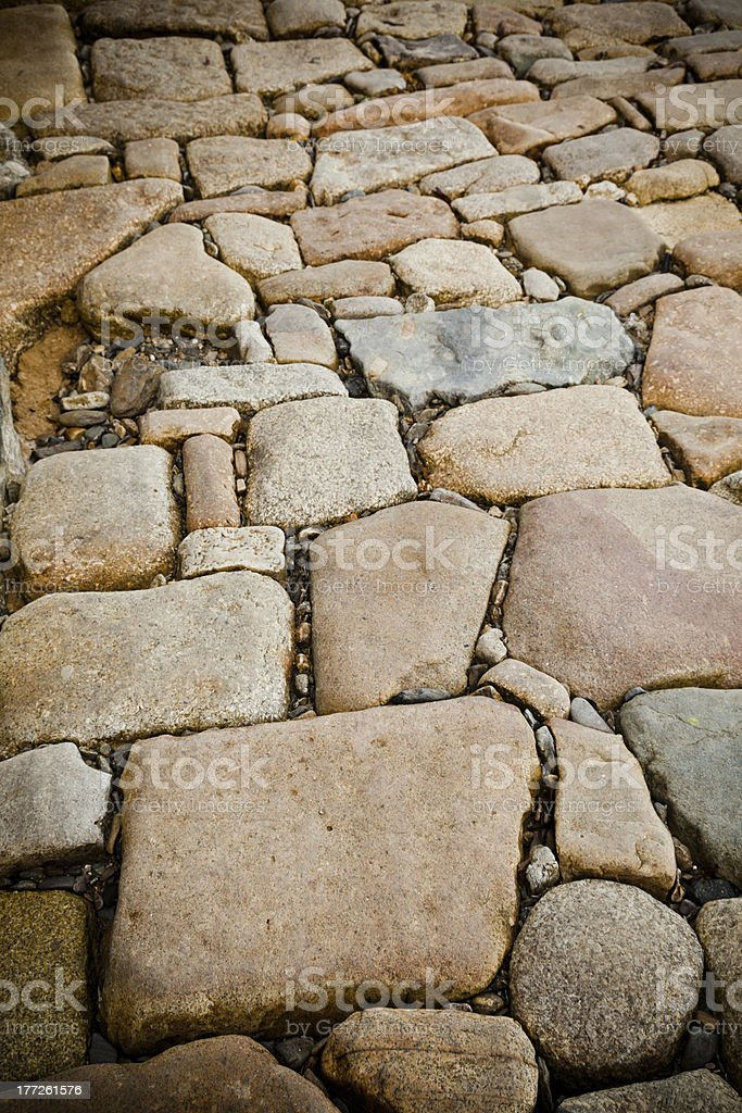 Stone Path royalty-free stock photo