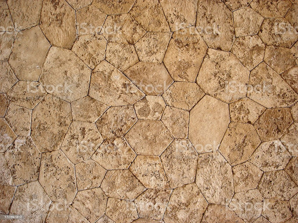 Stone Path Texture royalty-free stock photo