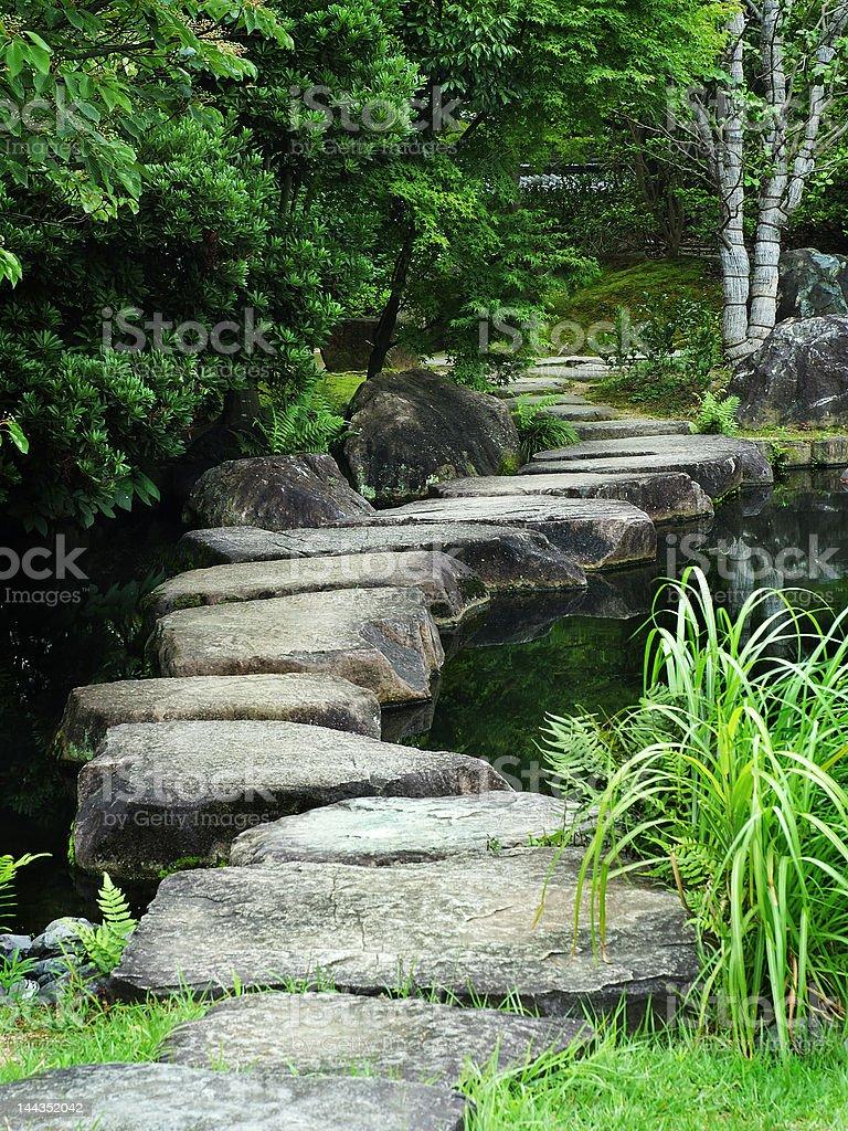 Stone Pathway royalty-free stock photo