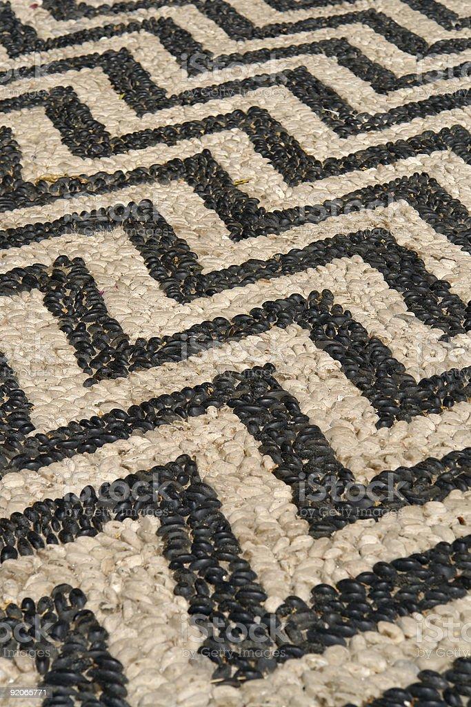 BW stone pattern royalty-free stock photo