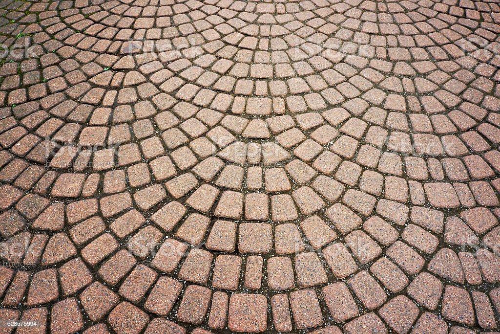 Stone paving pattern. stock photo