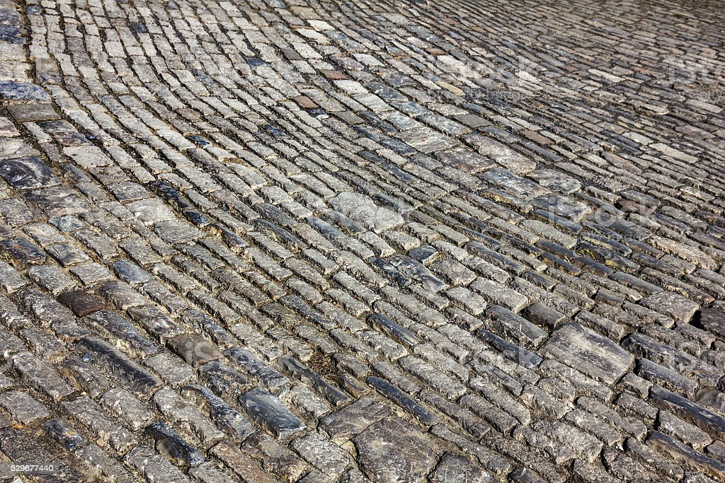 Stone paving texture. stock photo