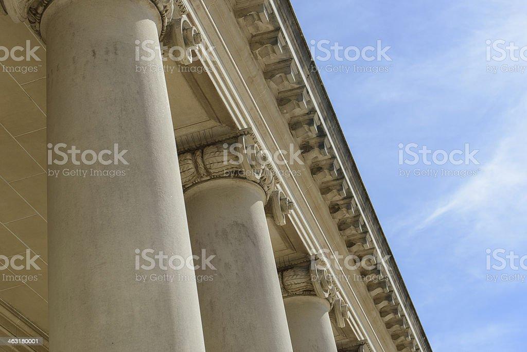 Stone Pillars of Strength royalty-free stock photo