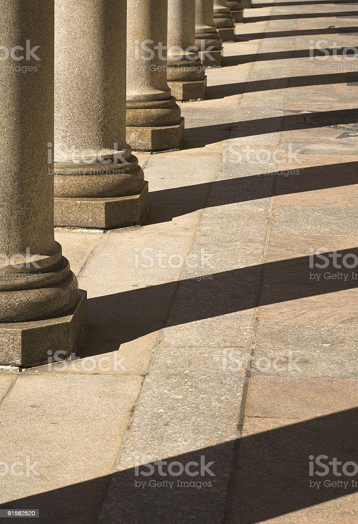 Stone Pillars royalty-free stock photo