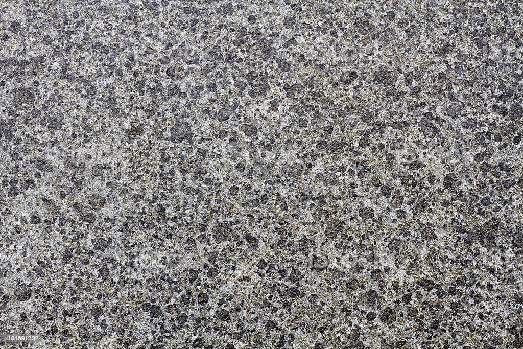 Stone plate in shiny black and white grain royalty-free stock photo