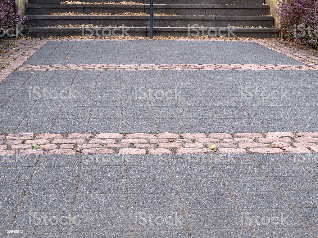 Camino de piedra foto de stock libre de derechos
