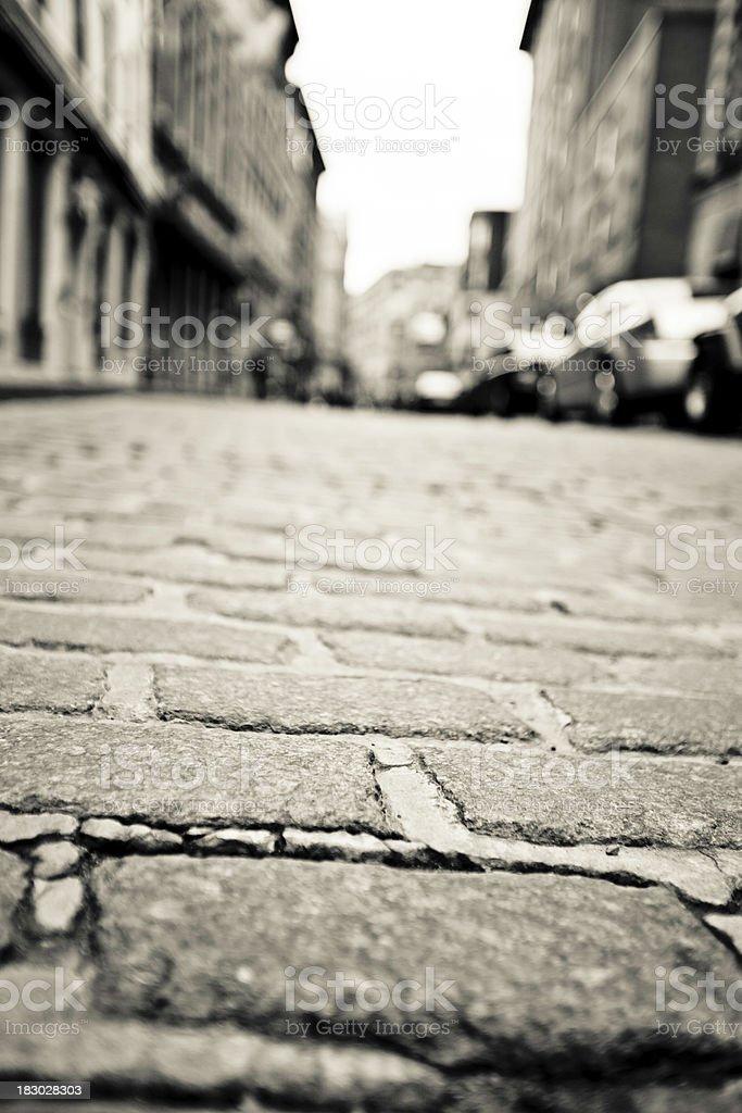 Stone road royalty-free stock photo