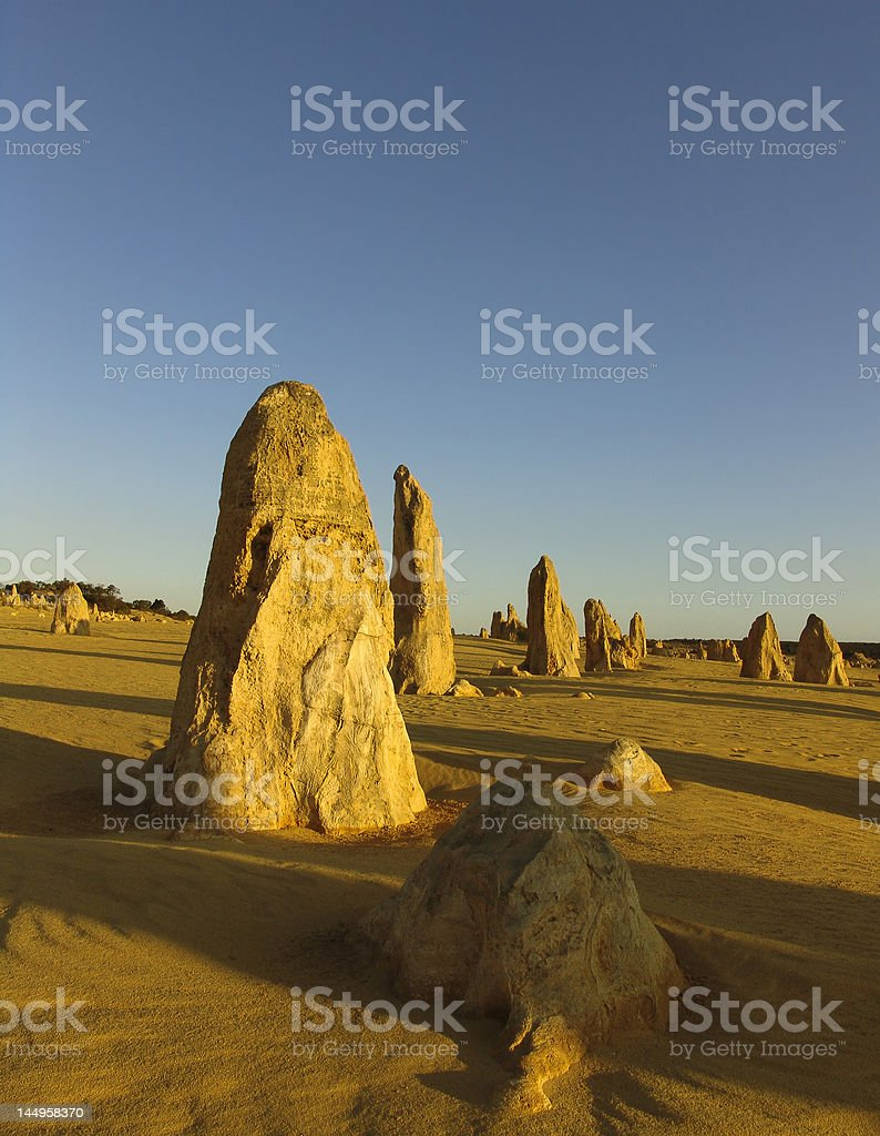 Stone Soldiers royalty-free stock photo