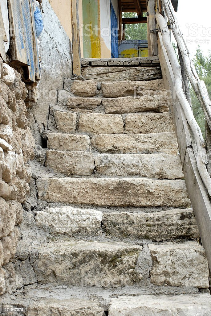Stone Stair (Click for more) royalty-free stock photo