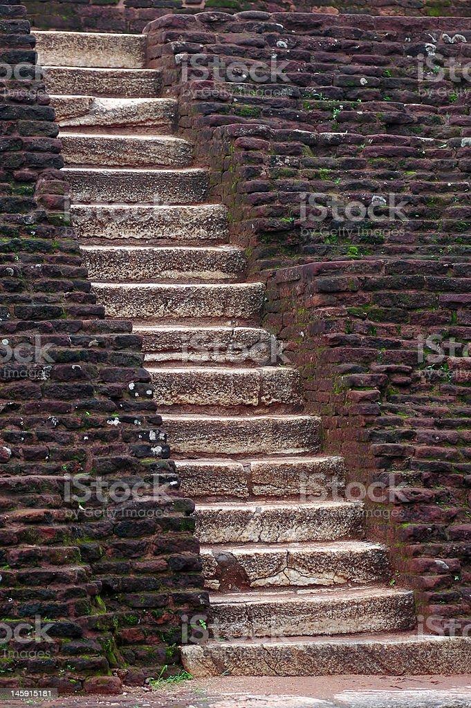 stone staircase royalty-free stock photo