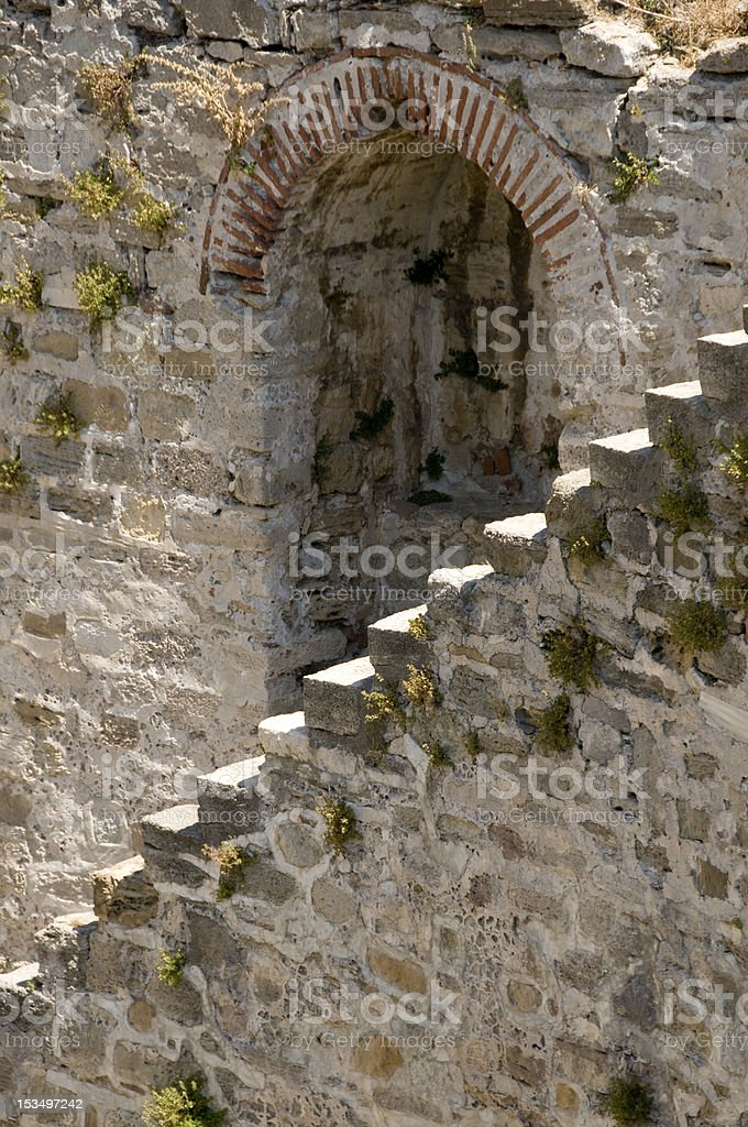 Stone staircase stock photo