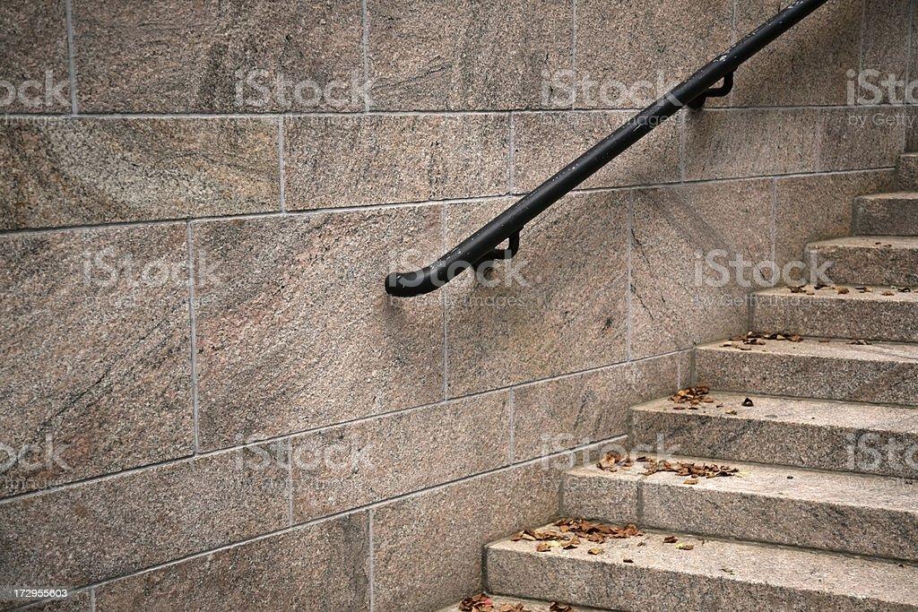 Stone staircase stock photo