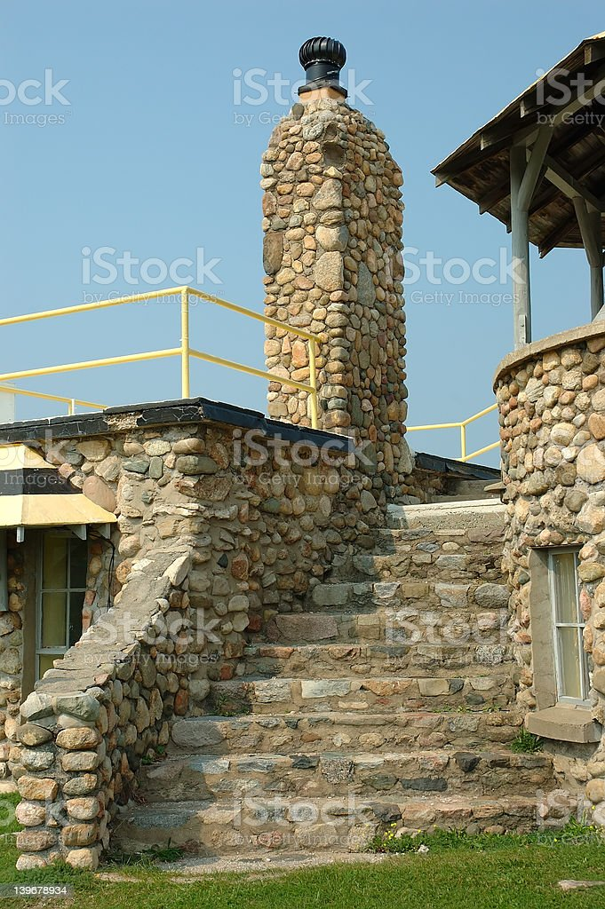 Stone Stairway royalty-free stock photo
