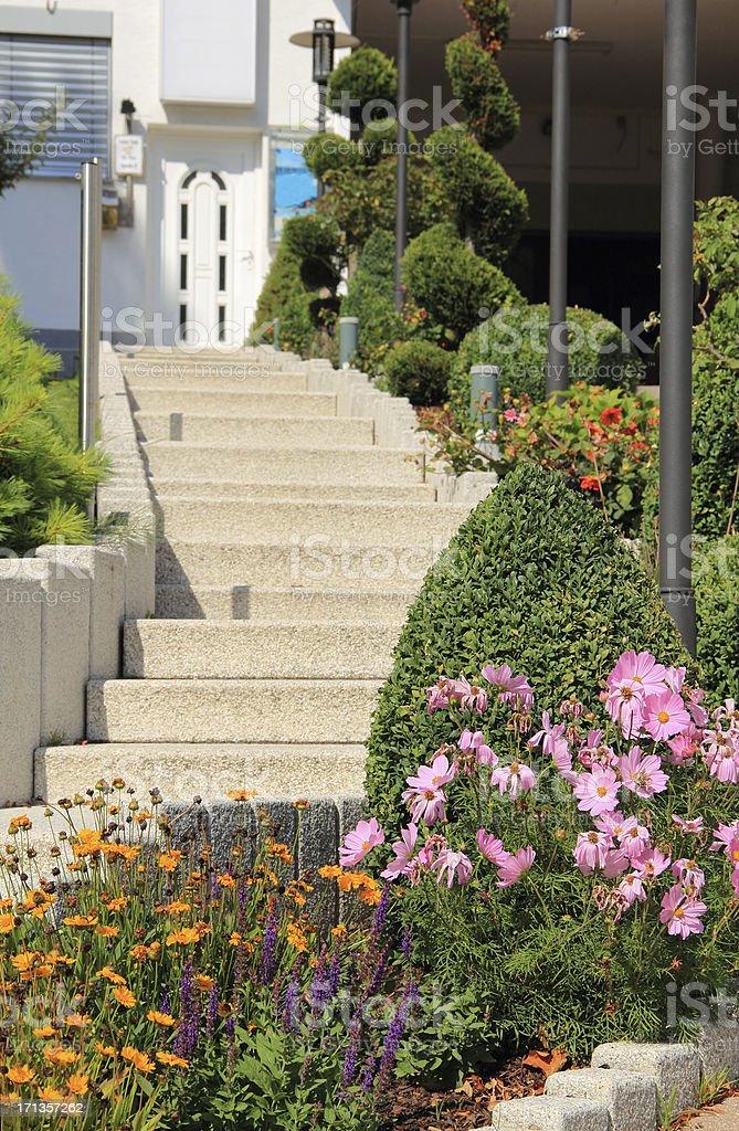 Stone Steps royalty-free stock photo
