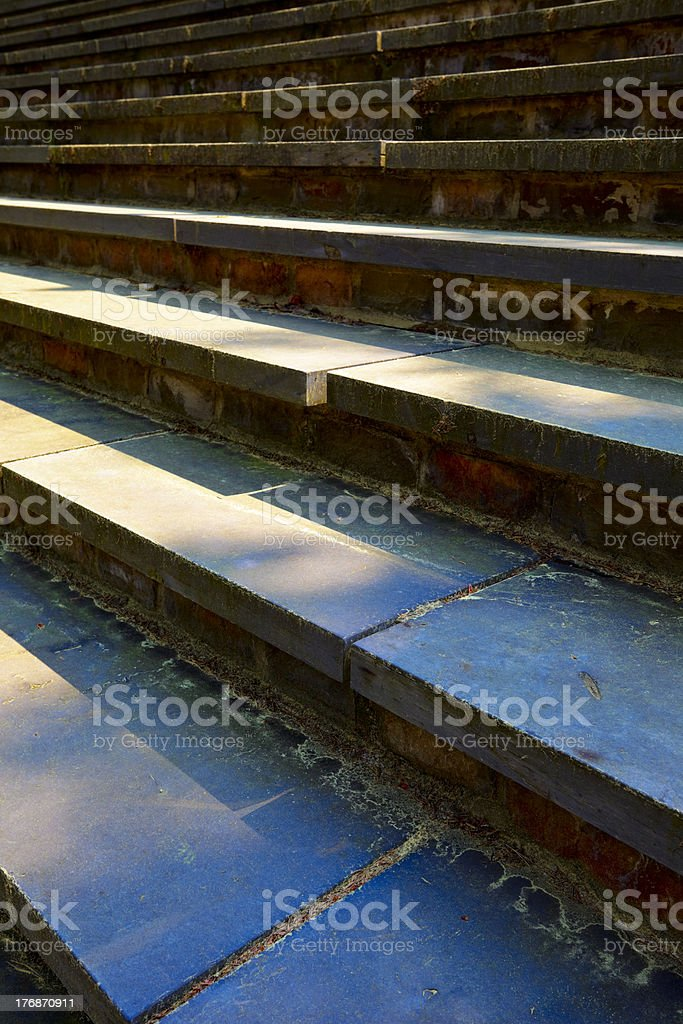 Stone steps royalty-free stock photo