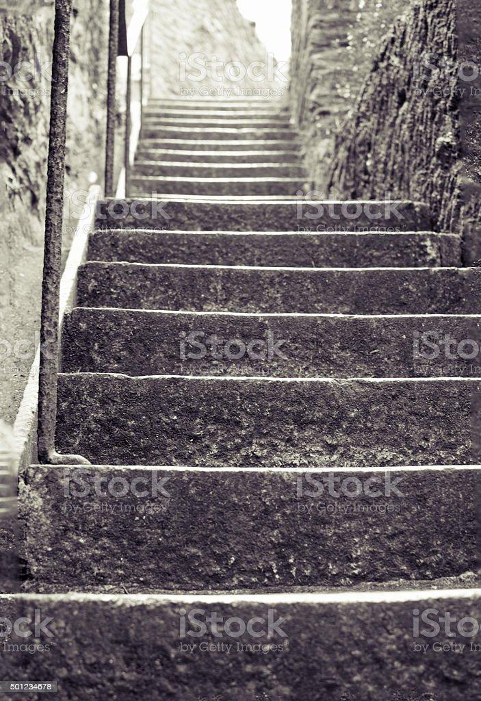 Stone Steps stock photo