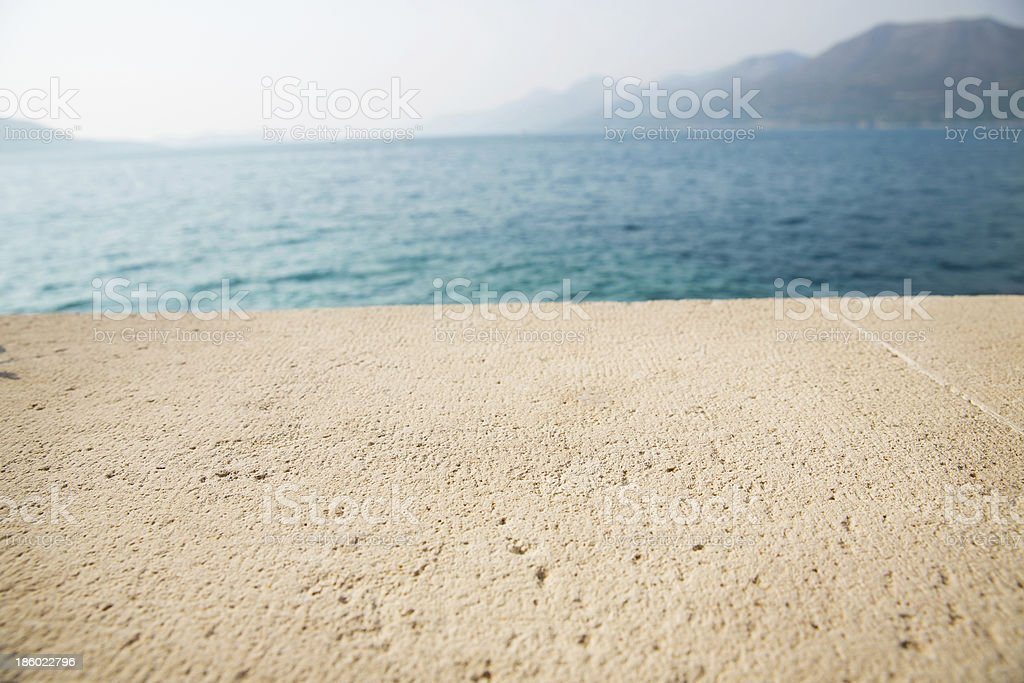 Stone Table royalty-free stock photo