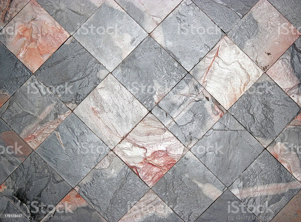 Stone tile wall background royalty-free stock photo