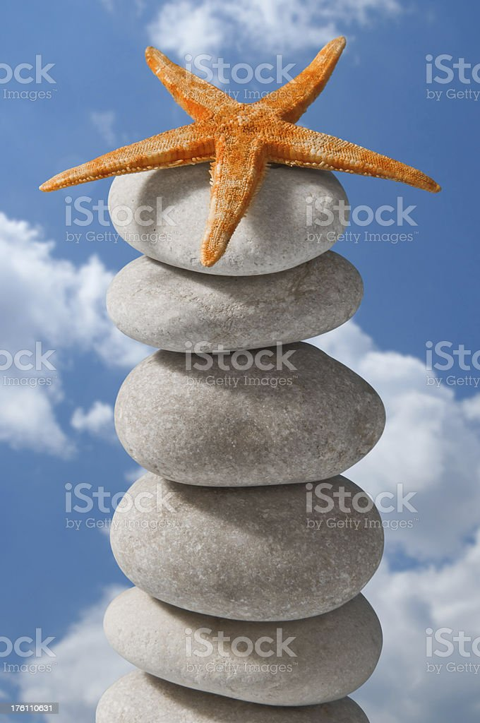 stone tower royalty-free stock photo