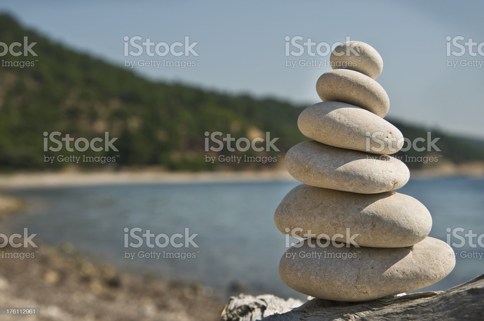 stone tower royalty-free stock photo
