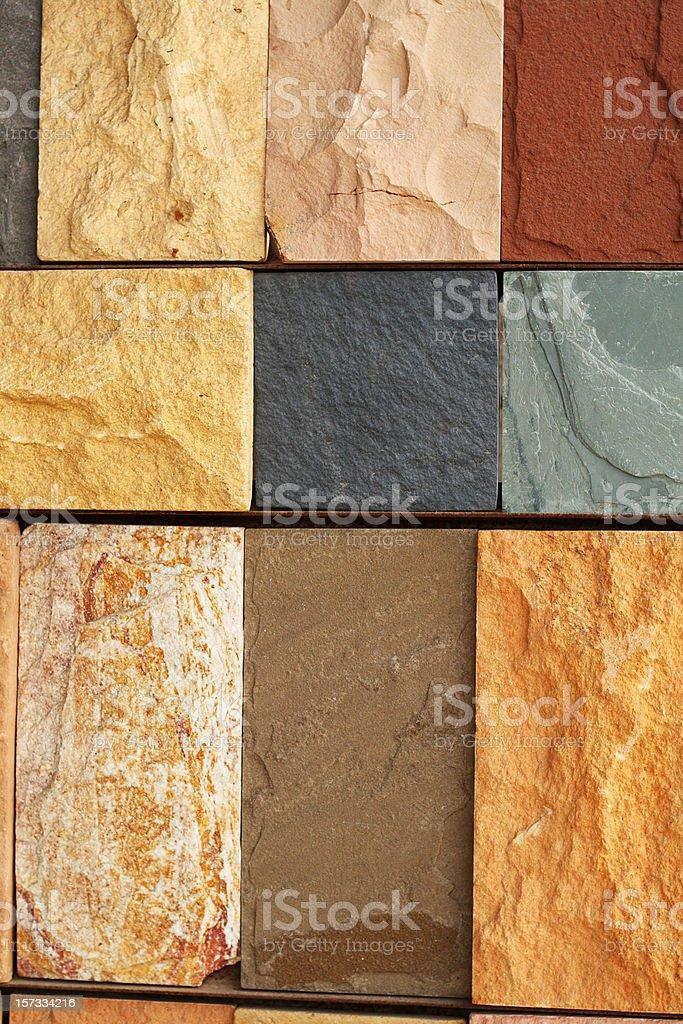Stone variety stock photo