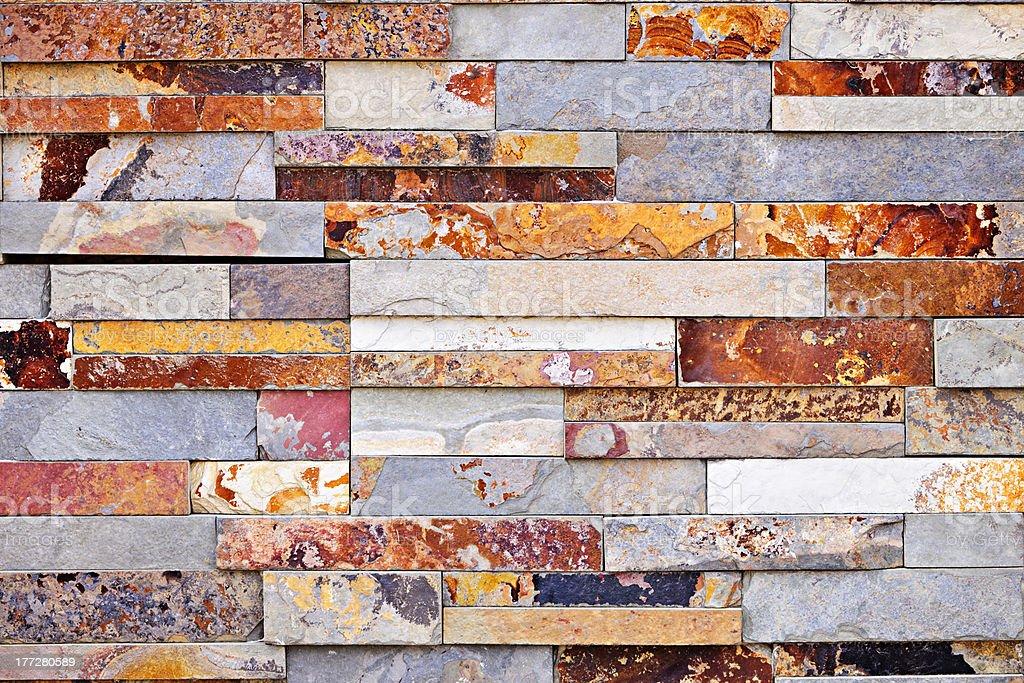Stone veneer background royalty-free stock photo