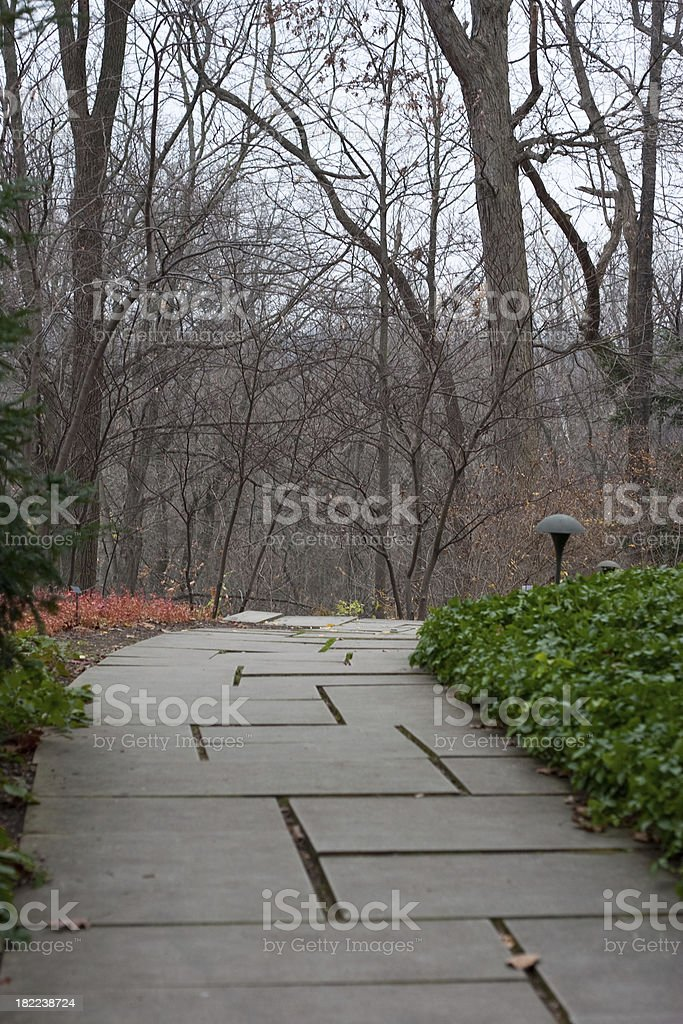 Stone walkway royalty-free stock photo