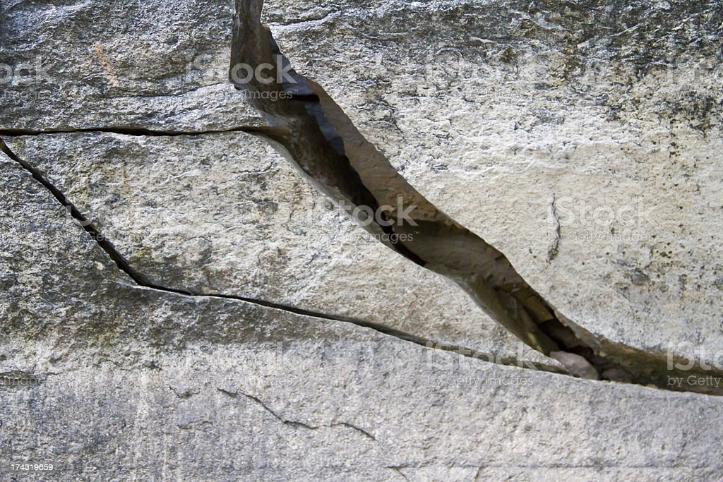 Stone wall at patam of ubonratchathani, Thailand royalty-free stock photo