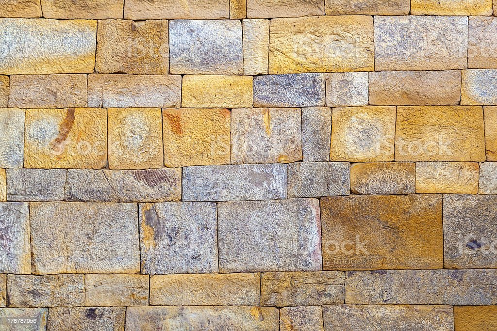 stone wall at Qutub Minar, Delhi India. royalty-free stock photo
