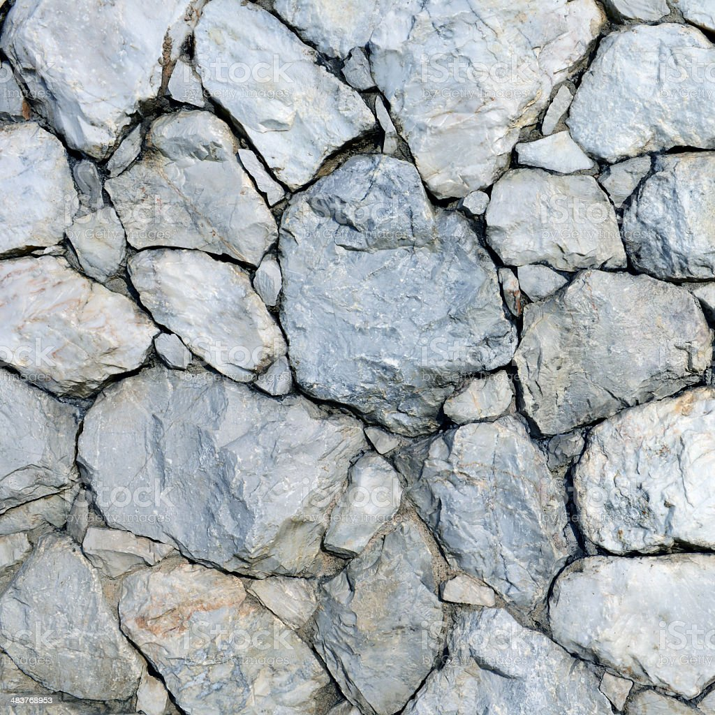 Stone wall background and texture stock photo