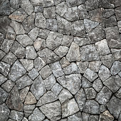 Stone wall background and texture with space