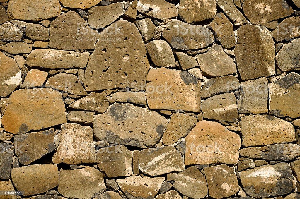 Steinmauer Hintergrund Lizenzfreies stock-foto