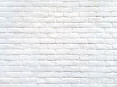 Stone wall background white