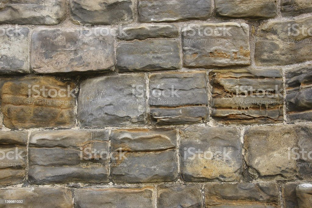Stone Wall (1) royalty-free stock photo