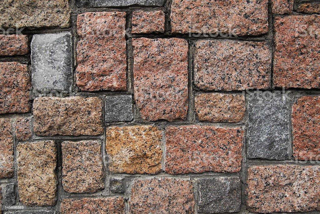 Mur de pierres photo libre de droits