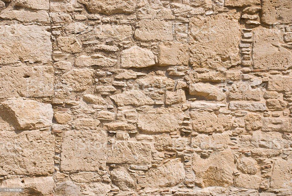 Muro de pedra foto royalty-free