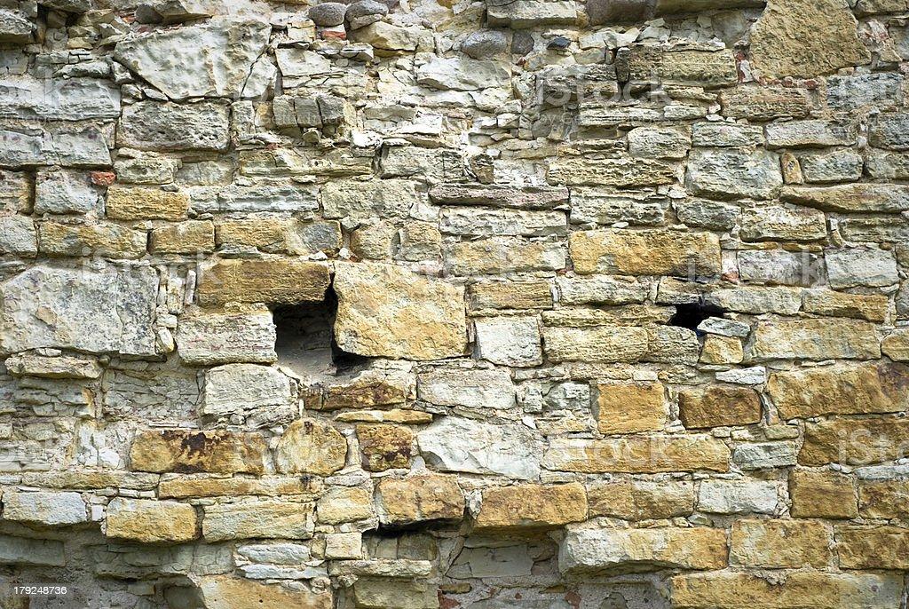 stone wall royalty-free stock photo