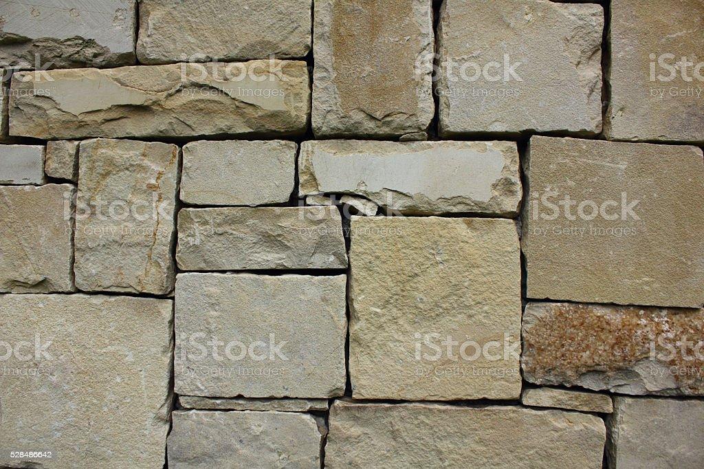 Stone wall stock photo