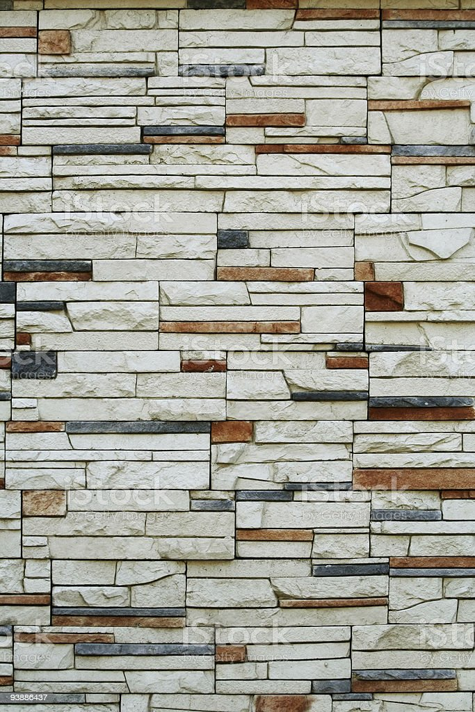 Stone wall. stock photo