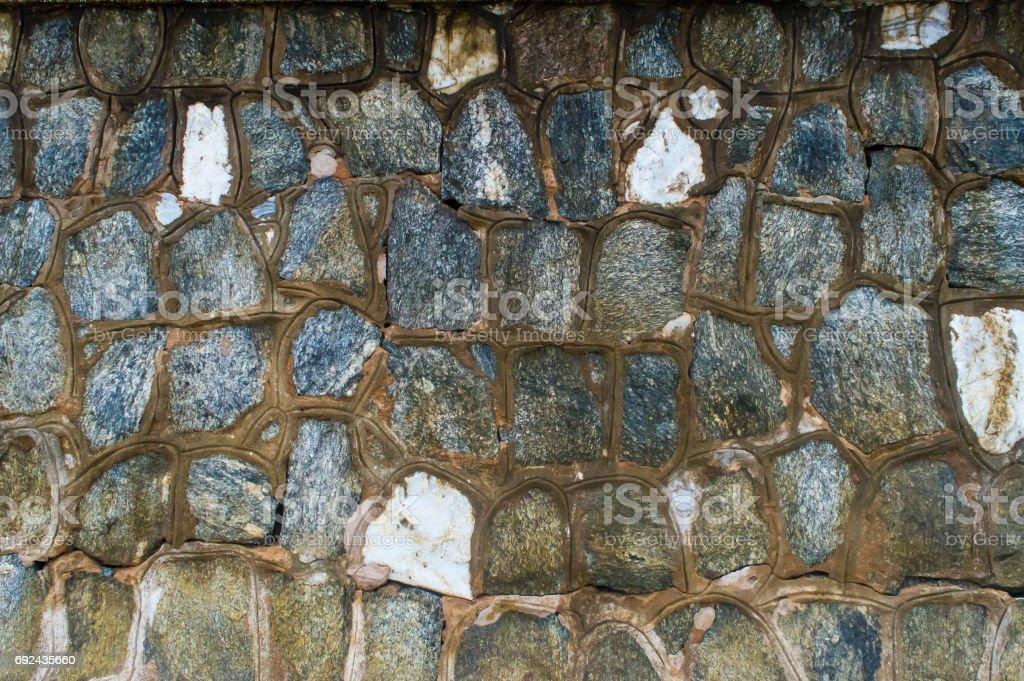 Stone Wall Puzzle stock photo